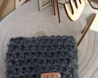 Hot chocolate coffee cozy wool