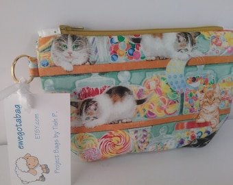 Cats & Candy  Notions Bag
