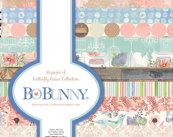 BoBunny - Butterfly Kisses  Collection - 6 x 6 Paper Pad