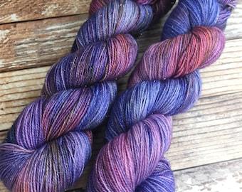 Brillante - Wildflowers - Hand Dyed Yarn - 75/20/5 Superwash Merino/Nylon/Stellina