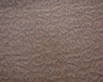 Contemporary Taupe Fabric
