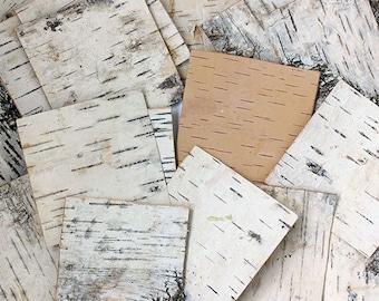 Birch Bark Sheets. Birch Sheets Craft. Birch Pieces. Birch Wood Sheets