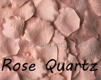 Silk Rose Petals, 300 Rose Gold, Rose Quartz