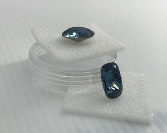 Swarovski 4568 14/10mm Demin Blue