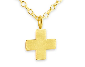 Greek cross etsy simple tiny greek cross mozeypictures Choice Image