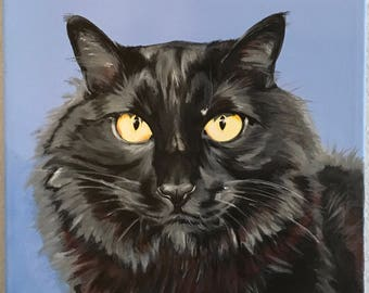 "Custom pet portrait ""Coleman"""