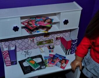 American Girl Doll 18 inch Doll School/desk Supplies