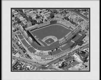 Chicago Cubs Photograph - Black & White