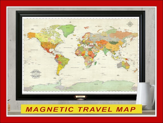 Magnetic map pins map magnets set of 30 like this item gumiabroncs Choice Image