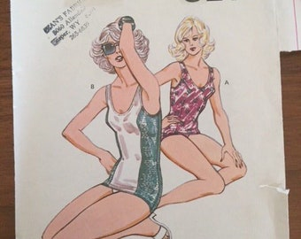 Kwik Sew 1013 One Piece Bathing Suit - size 16-22