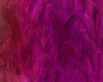 Interlace Blender Camelia by Brandenburg for Frond Design Studios - Raspberry Quilt Fabric - Full or Half Yard