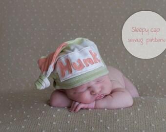 Newborn Sleepy Cap Sewing Pattern