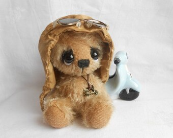 """Sewing kit for 7 - 7,5 Inch Bear """"Gilou"""" Incl. ready made hat"""