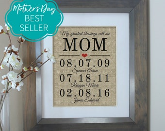 Mothers Day Gift from Daughter Mothers Day Gift, Mother of the Bride Gift, Birthday Gifts for Mom, Gift from Daughter, Mother Daughter Gift