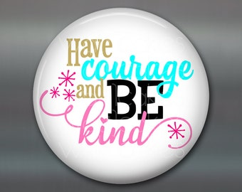 inspirational kitchen art- kitchen decor sayings- be kind and have courage- daily positive quotes- inspirational art for kitchen- MA-WORD-5