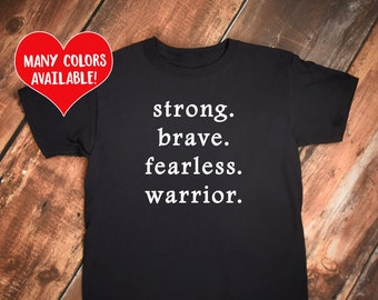 Warrior Shirt, Warrior Tshirt, Warrior, Warrior Apparel, Social Justice Shirt, Survivor Shirt, Warrior Tee, Warrior Quote, Social Justice