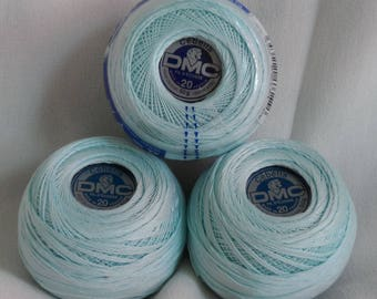 DMC Cebelia Cotton thread, no.747, Ocean Blue
