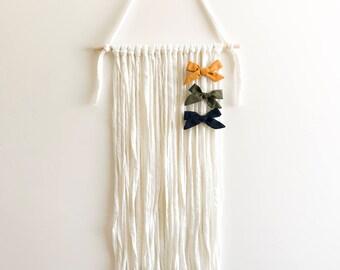 Girls Hair Bow Holder- Wall Hanging (Straight Edge)