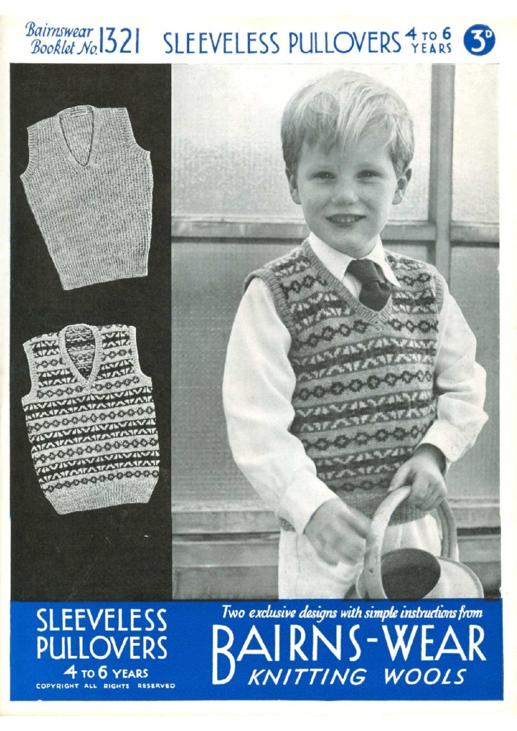 ALMOST FREE Instant Download PDF Vintage Row by Row Knitting Pattern ...