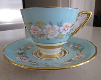 Royal Stafford Garland Tea Cup and Saucer