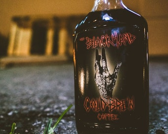The Black Hand cold brew coffee