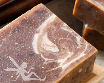 Lavender Vanilla Natural Handmade Soap vegan