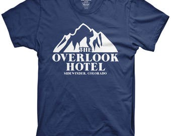 The overlook hotel shirt funny movie tshirts scary movie funny fanfic graphic tees
