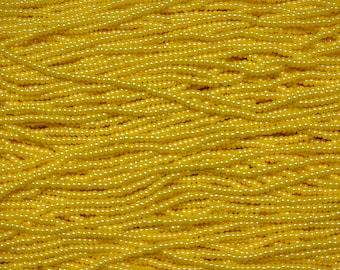 11/0 Light Yellow Luster Czech Glass Seed Beads - SB11_434 from Bead Mecca