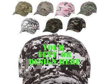 Custom Camo Hats