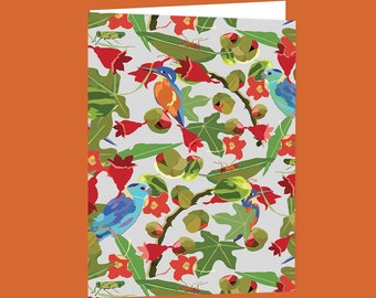 Illawarra Rainforest  Blank Greeting Card Free Shipping Australia Wide.