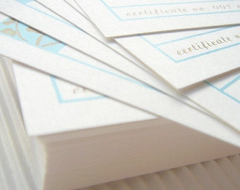Gift Certificates Designed to Match Your Shop Banner