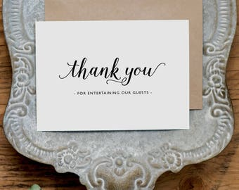 Vielen Dank für die Unterhaltung unserer Gäste, Hochzeitskarte für DJ, DJ Hochzeitskarte, Dankeskarten Hochzeit, Hochzeit-DJ-Dankeschön-Karte, K3