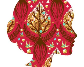 Tree of Life , Lucy and Mabs Reusable pad or pantyliner / Made to Order