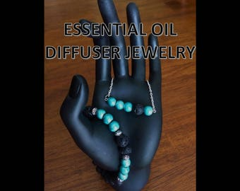 Essential Oil Diffuser Necklace and Bracelet