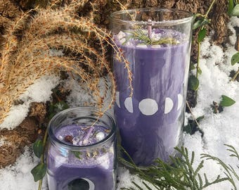Magical Moon Phase Candles