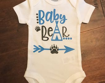 Baby bear bodysuit.
