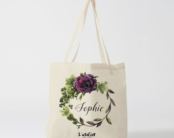 w107Y Tote bag custom wedding, Bridesmaid bags, Wedding Bags, Bridal Party Gifts, Personalized Handbags,Bridesmaid Gifts,by atelier des amis
