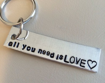 Keychain -- All you need is love