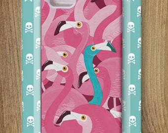 FLAMINGOS! Case for iPhone 5/5s by Adam Fisher
