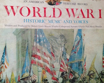 World War I - Historic Music and Voices - vinyl record