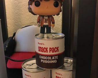 Stranger Things, Chocolate Pudding, Label, PDF, Printable, Digital Download