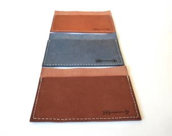 25 Leather Card Holders, FREE SHIPPING