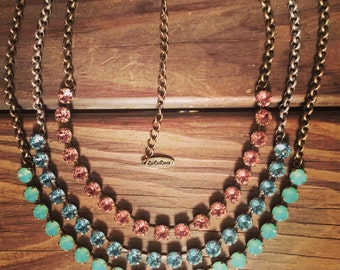 8.5mm 20 Setting Necklace