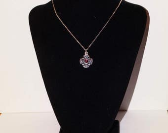 "925 Sterling Silver 12.5"" Chain Necklace."