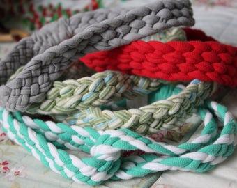 SALE!! Upcycled Jersey Knit T-Shirt Headband
