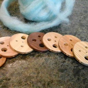 Handcrafted Wood Diz with 5 holes