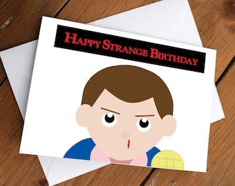 STRANGER THINGS- ELEVEN // happy birthday, love, friendship, cute, greeting card, netflix, eleven