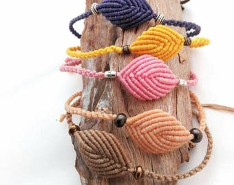 Macrame  bracelet,  elegant  bracelet,  friendship bracelet,  minimal macrame bracelet