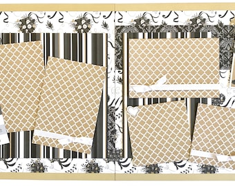 We Do 2 Page Scrapbook Page Kit