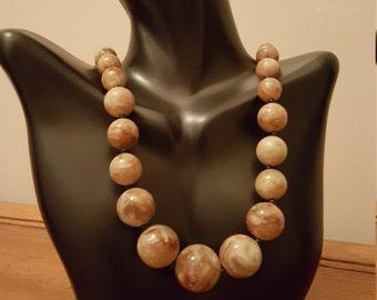 1950s Celluloid necklace